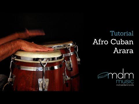 Afro Cuban Arara-tutorial by Michael de Miranda