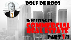 Commercial Real Estate (for Dummies!) (1/2)