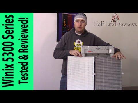 Winix 5300 Series HEPA Air Purifier. Full and Honest Review