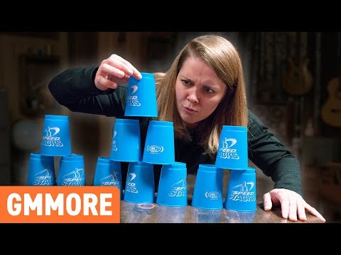 Slippery Cup Stacking