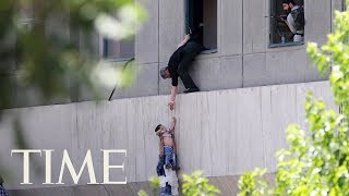 Twin ISIS Attacks In Iran: 12 People Dead And 42 Injured, 4 Attackers Dead In Siege | TIME