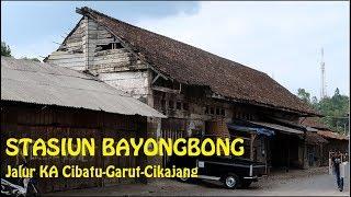 Stasiun Bayongbong, || terhimpit bangunan warga || Part. 6 (Jalur Cibatu-Garut-Cikajang)