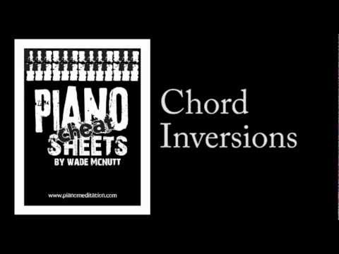 Piano piano chords cheat sheet : Cheat Sheets - Chord Inversions - YouTube