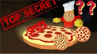 ROBLOX - 5 SECRETS IN WORK AT PIZZA PLACE