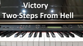 Hướng dẫn VICTORY - TWO STEPS FROM HELL | Piano Solo/Cover Easy | Đinh Công Tú