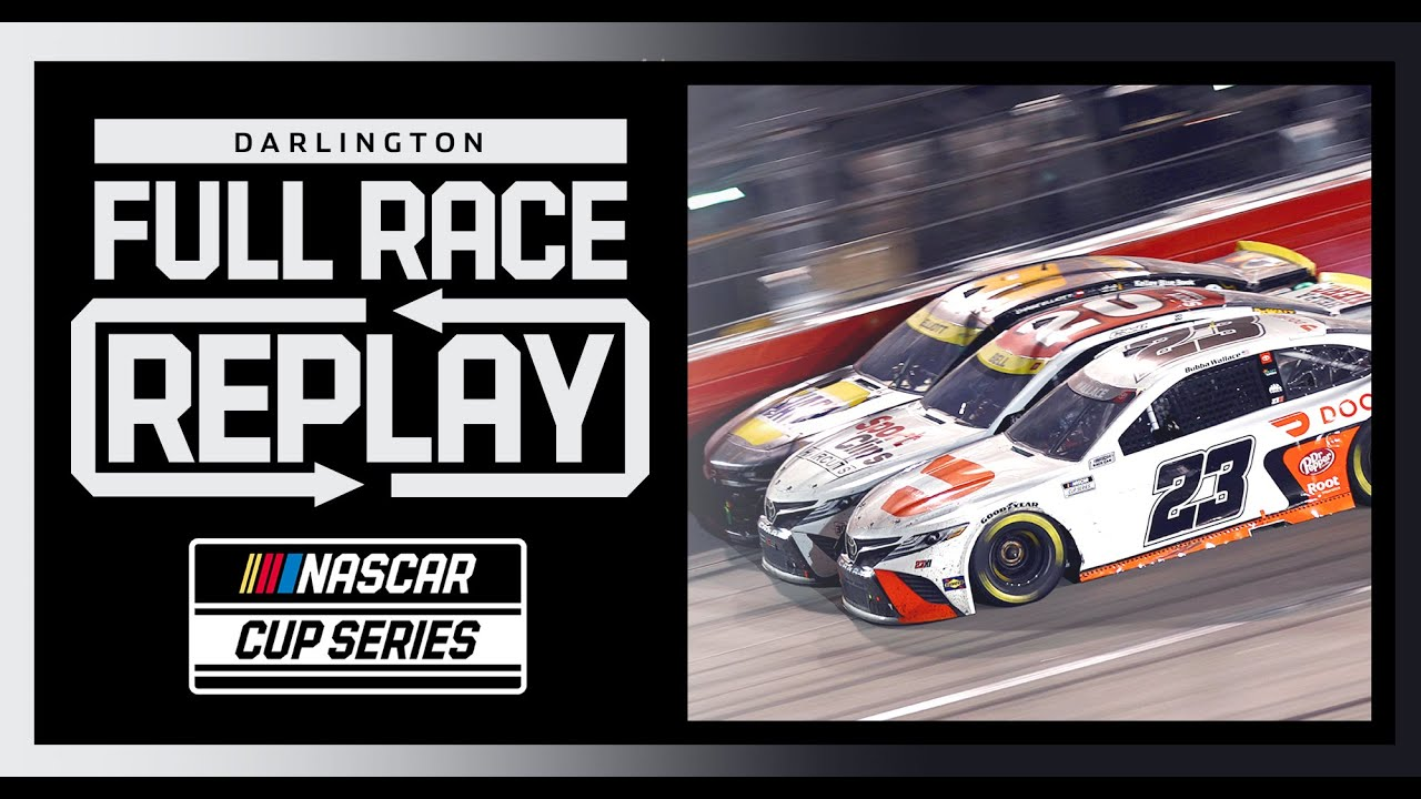 Download NASCAR Cup Series Cook Out Southern 500 I Darlington Raceway | Full Race Replay