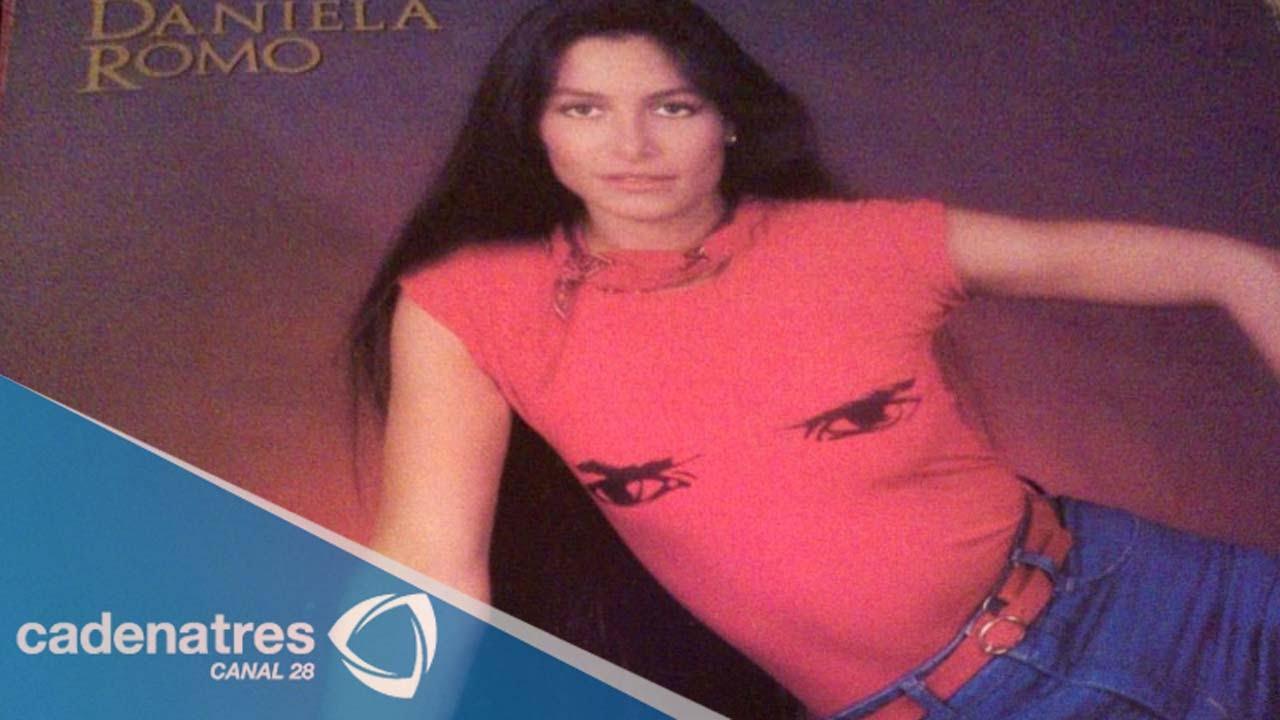 Los inicios de la carrera artística de Daniela Romo - YouTube