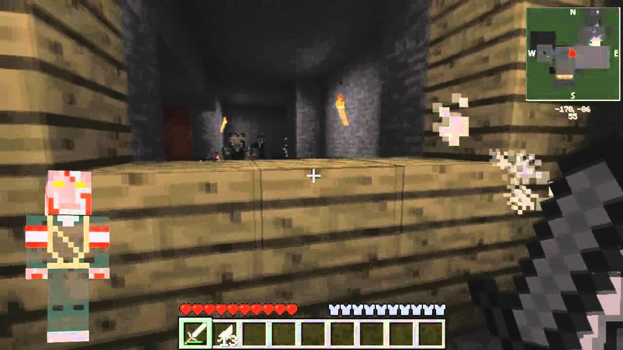 Minecraft • Skins • Nazi Zombie! + Kino der Toten Gameplay - YouTube
