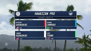 2017 Hawaiian Pro: Round Two, Heat 15