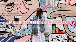 TRAVEL VLOG: MELBOURNE 2020