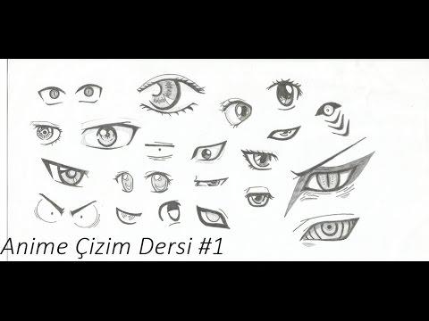 Anime Çizim Dersleri - Ders #1 - Yüz