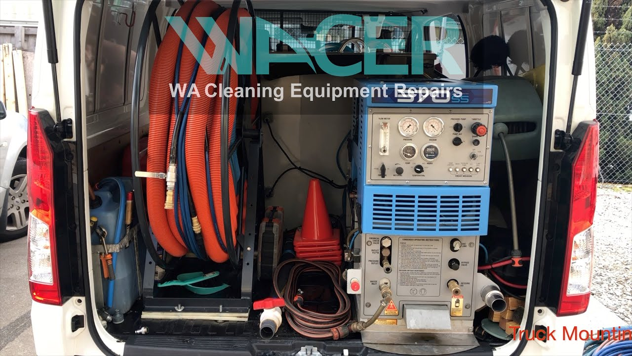 Truck Mount System Cleaning Equipment Perth Wacer