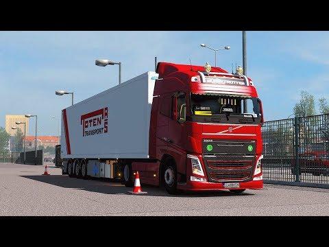 [ETS2] Euro Truck Simulator 2 1 33 - Beyond the Baltic Sea - Volvo FH16  -Trailer Ekeri by Rancilio Ran