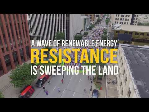 Solar XL - A Wave of Renewable Energy Resistance
