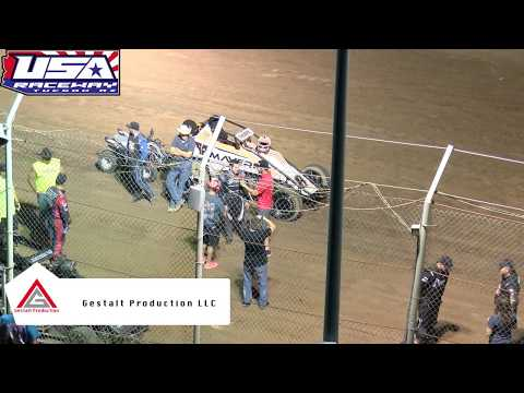 USA Raceway ASCS Non Wing Sprint Car Redraw July 6 2019