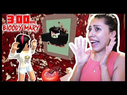 I SHOULD HAVE NEVER DONE THIS....DON'T PLAY ROBLOX AT 3AM! (Bloody Mary)