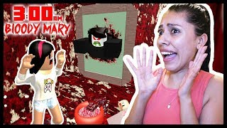 I SHOULD HAVE NEVER DONE THIS.... DON'T PLAY ROBLOX AT 3AM! (Bloody Mary)