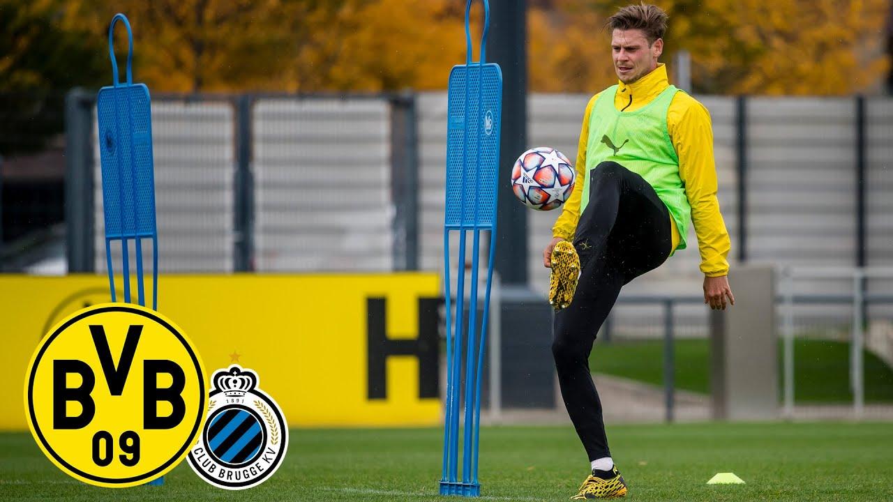 ReLive: Das Abschlusstraining vor BVB - Club Brügge