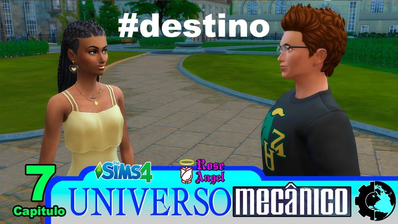 UNIVERSO MECÂNICO Capítulo 07 - Game Play The Sims 4, Vida Universitária