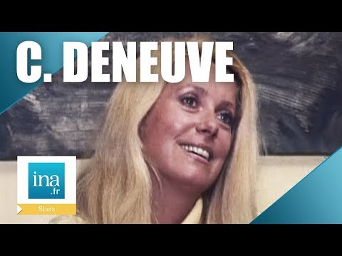 Catherine Deneuve parle de la timidité dans son métier  Archive INA
