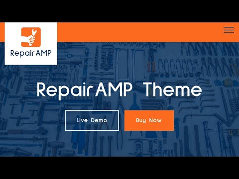 Repair Service HTML Template | RepairAMP