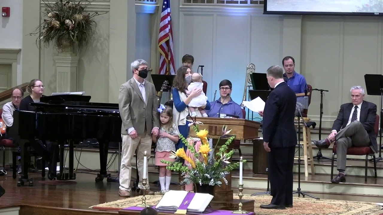 March 7, 2021 Service [Trimmed] at First Baptist Thomson, Streaming License 201531172