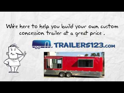 Huntsville Concession Trailers for Sale Near Me - See Huntsville Concession Trailers Here!