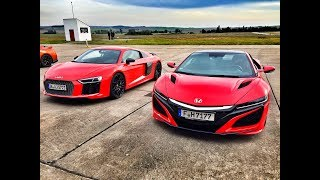 Onboard Honda NSX 2016 Tracktest Drifting Hot Lap Contidrom 2016