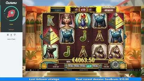Legacy Of Egypt - Mega Win(high stakes)
