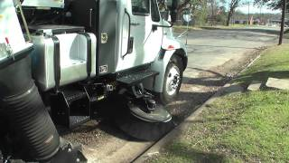 TYMCO Model 600 Regenerative Air Street Sweeper