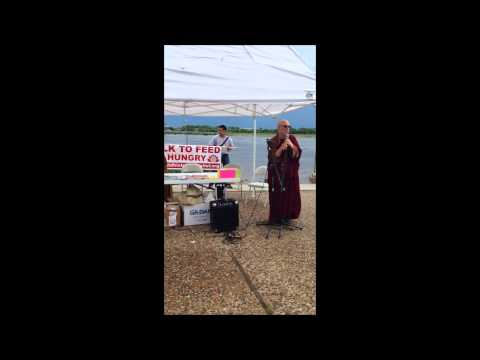 Bhante Bhikkhu Bodhi at the St. Louis Walk to Feed the Hungry
