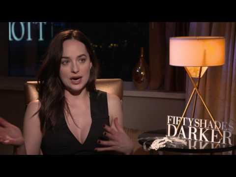 Fifty Shades Darker: Dakota Johnson Official Movie Interview