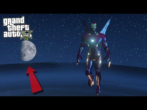 IRONMAN IN SPACE - GTA 5 Mods