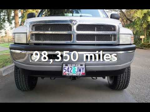 2001 Dodge Ram 2500 SLT 4dr Quad Cab 4X4 V10 Automatic 98K New Tires for sale in Milwaukie, OR