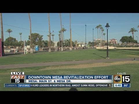 Downtown Mesa revitalization effort