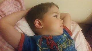 Когда Аня уснула, про духовный путь детей в семье Абзаловых рассказал ее 3 - летний брат, Чингиз.