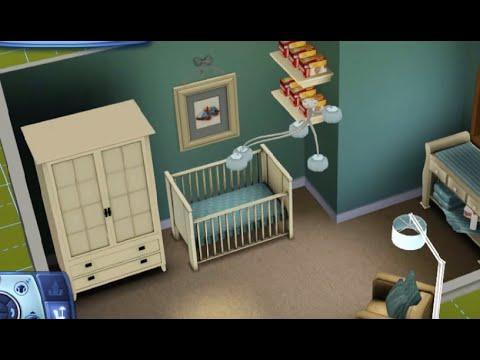 Sims 3   Baby Boy Nursery - YouTube