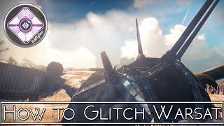 HOW TO GLITCH WARSAT Fallen S.A.B.E.R. Strike [After Patch]  |  Destiny The Taken King