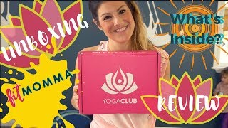 YogaClub Subscription Box | Fitmomma Review of Yoga Gear and Unboxing