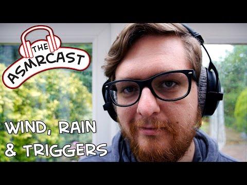 ASMR Binaural Tingles & Triggers On A Rainy, Blustery, British Afternoon.