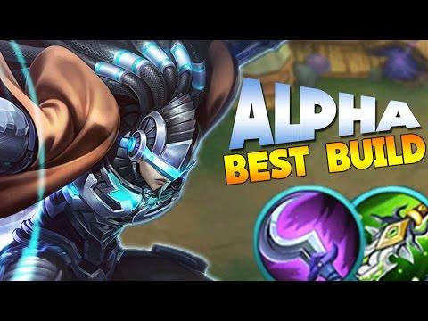 Mobile Legends ALPHA BEST BUILD! +Tips & Tricks