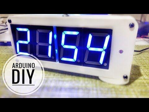 Самодельные часы на Ардуино (Atmega328)