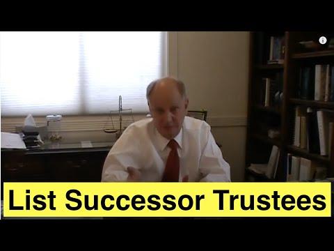 Listing Successor Trustees