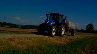 Epandage lisier 2016 | NH T 6050 et Tonne Joskin