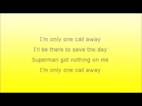 Lirik Lagu Charlie Puth One Call Away