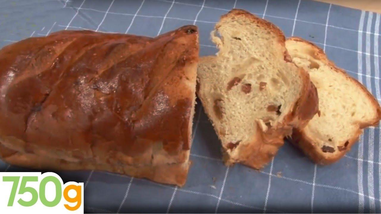 Recette de cramique ou brioche aux raisins 750 grammes for 750grammes com fiche de cuisine