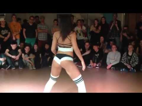 Top dance 2015 Twerk final round 1 Keat Mel & Mary (Fraules team)