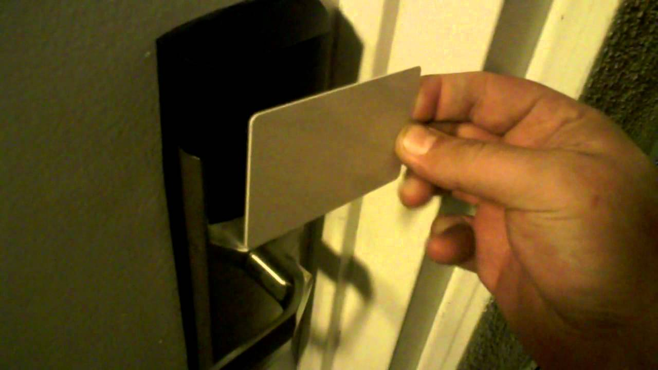 New Proximity Hotel Room Door Key & New Proximity Hotel Room Door Key - YouTube