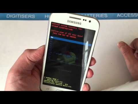 How To Hard Reset/Remove Password Samsung Galaxy Core Prime