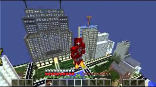 Minecraft - Iron Man (Super Heroes Unlimited Mod 1.7.10)